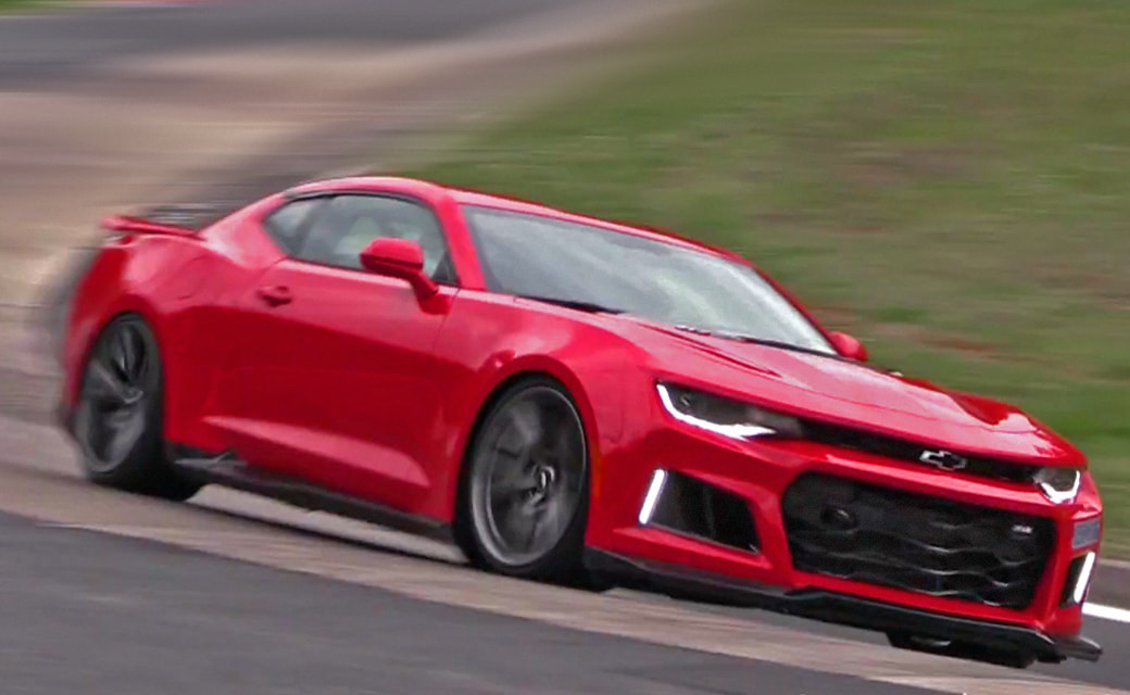 2019 IROC-Z Camaro Preview