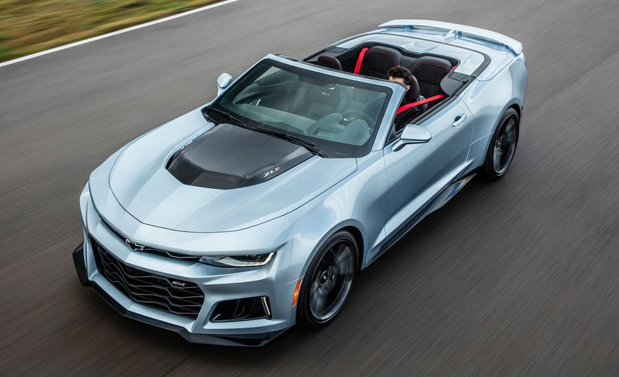 2019 Chevy Camaro IROC-Z Convertible – Hot New 2019 Camaro IROC-Z Convertibles