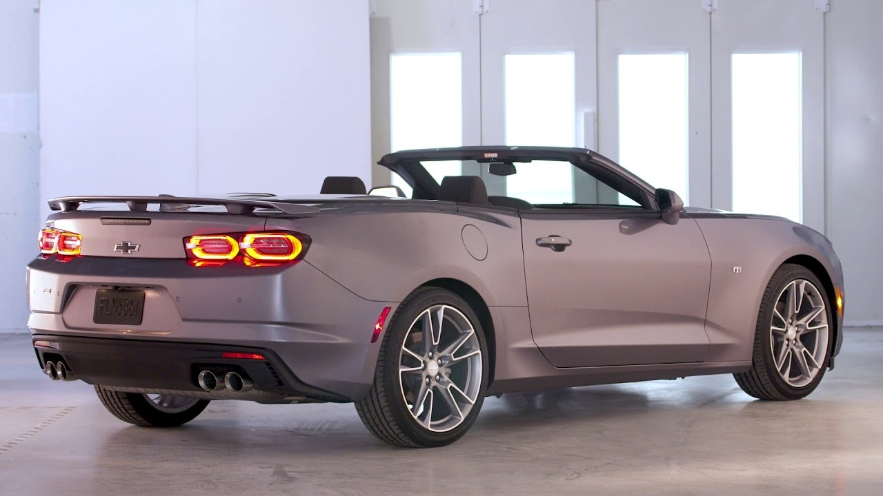 2019 Chevy Camaro IROC-Z Convertible – Overview