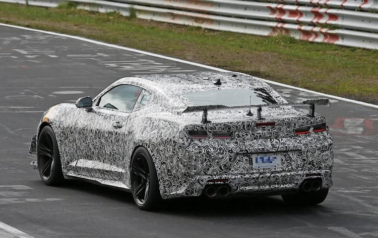 Caught Testing: 2019 IROC-Z Camaro  – Spy Pictures