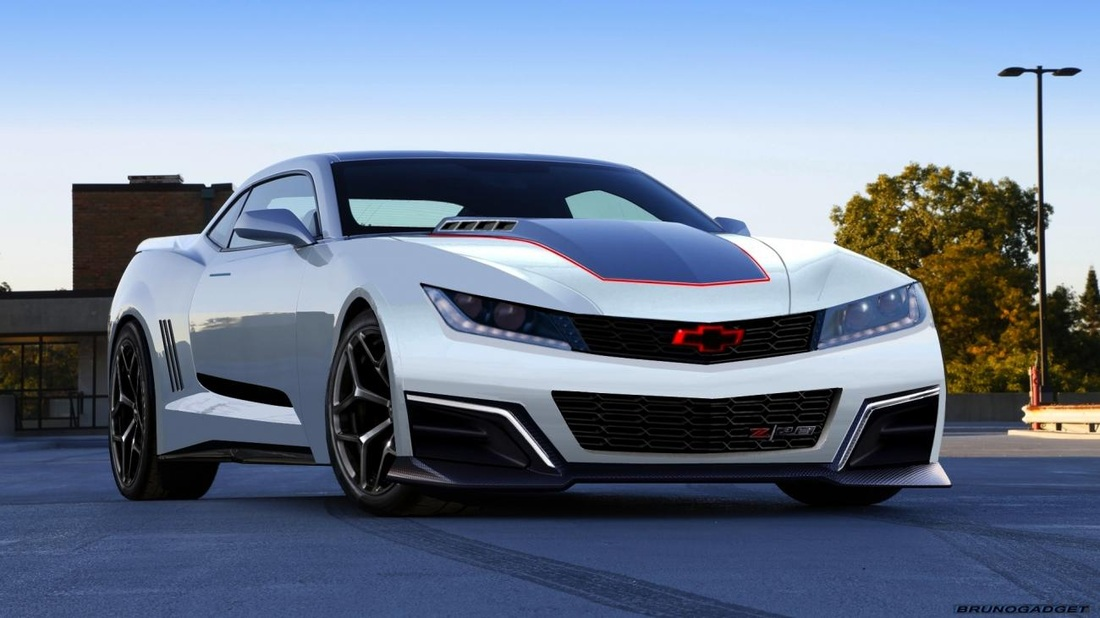 Learn More 2018 Chevy Camaro IROC-Z Concept Preview