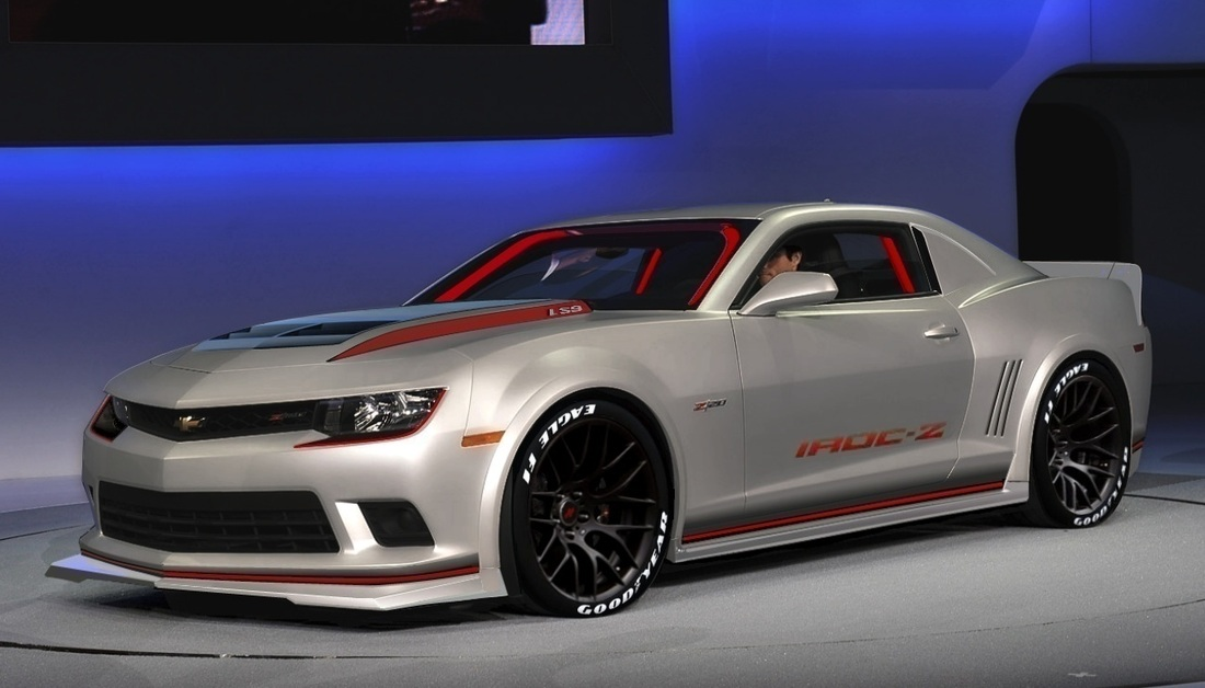 All New IROCZ Concept Photos Reviews Chevy Camaro - Sports cars that start with z