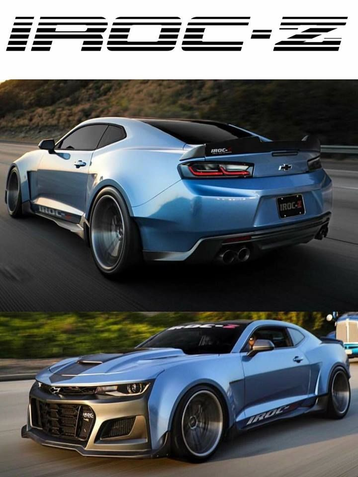 IROC-Z Camaro Concept Car, 2019, Will Be 2019 Car Of The Year