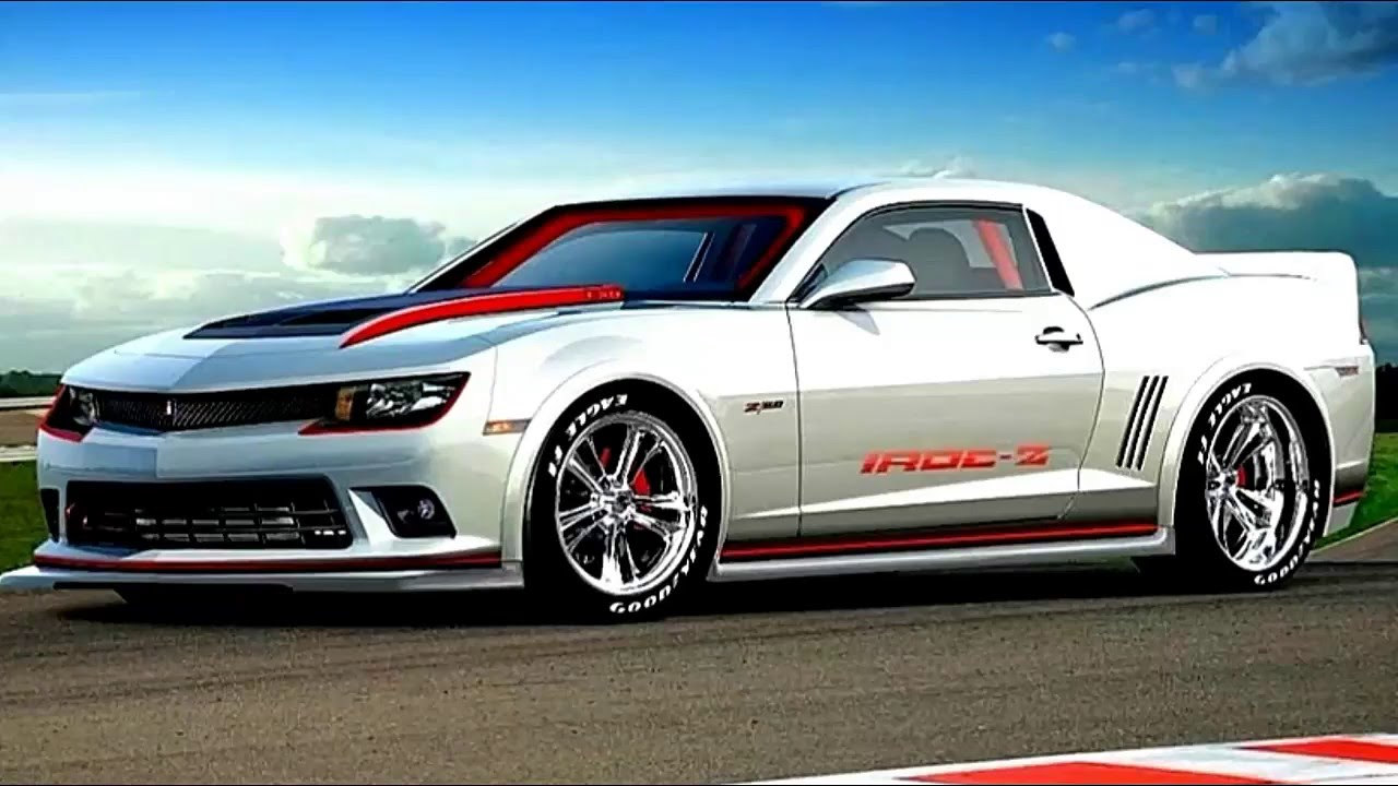 Another rendering of a possible 2019 Chevy Camaro IROC-Z.