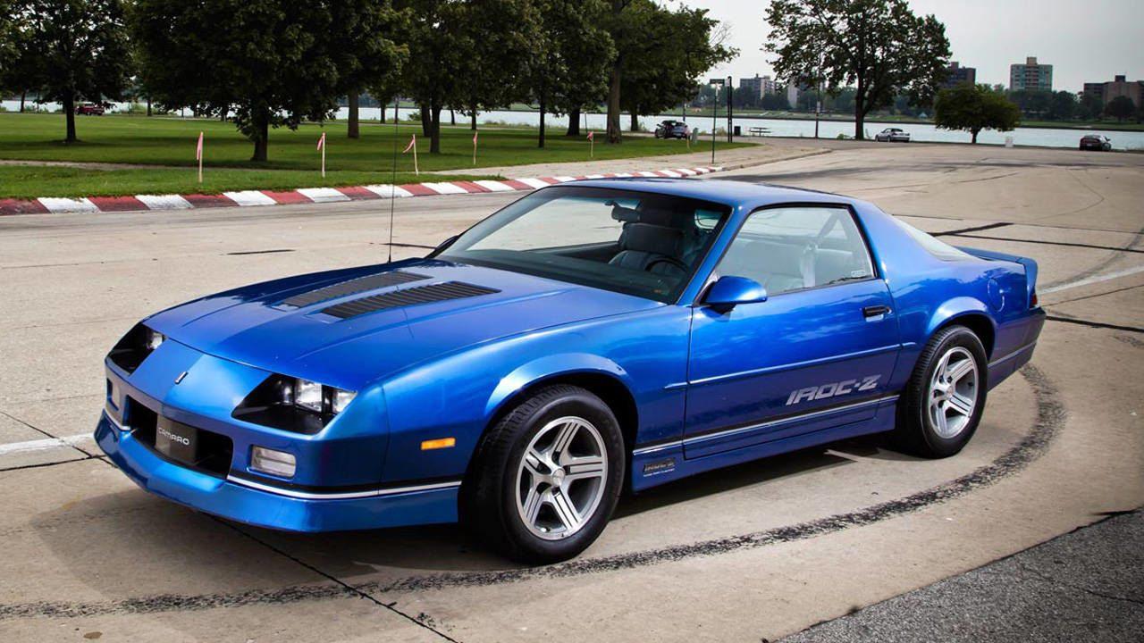 Next Wave of Collectible Chevy IROC Z, Chevy IROC Z ...